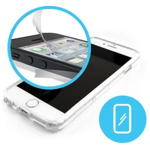 iPhone Bumper Screen Protector